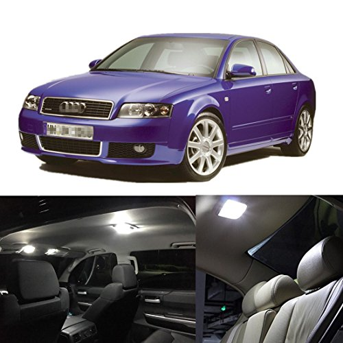 FEZZ 15x Auto Innenraum LED Glühlampen Satz Canbus Fehler frei Weiß