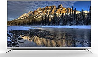 Skyworth Tv Screen 65 Inch, 4K UHD, Smart Android Tv, Voice Search, Silver, 65G6-9K02T