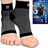Bitly Plantar Fasciitis Compression Socks for Women & Men - Best Ankle Compression Sleeve, Nano Brace for Everyday Use -...