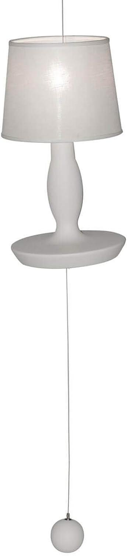 Karman norma m, lampada a sospensione bianco opaco,in ceramica SE640EB