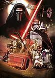 Mutuco DIY Pintura por Números Pint por Número de Kits,Carteles de películas de Star Wars: El despertar de la fuerza,Decoraciones para el Hogar (XXL 16x24 Inch Sin Marco)