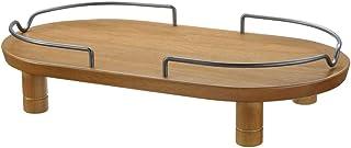 リッチェル ペット用 木製テーブル ダブル ブラウン