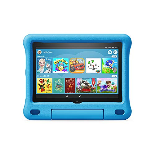 "Fire HD 8 Kids Edition tablet | 8"" HD display, 32 GB, Blue Kid-Proof Case"