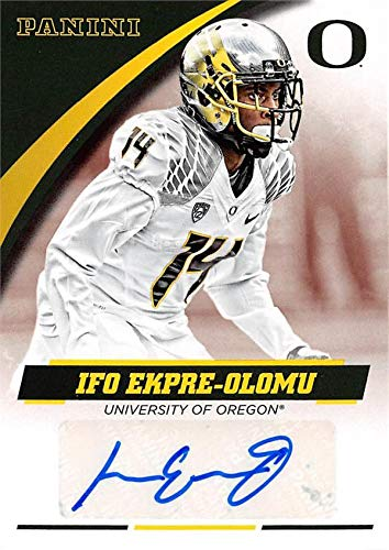 Ifo Ekpre-Olomu autographed Football Card (Oregon Ducks) 2015 Panini Team Collection #IEO-ORE - Autographed College Cards