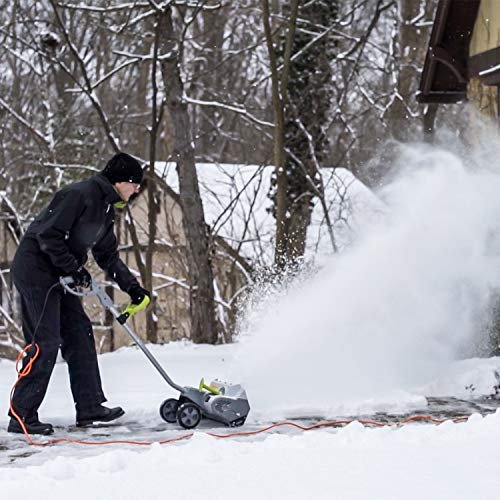 Snowy? Frosty? No problemo with an electric snow shovel 12