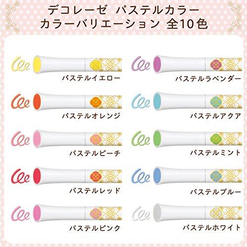 Sakura Fun Writing Gel Ink Roller Ballpoint Pen for Decoration, Decorese Pastel 5 Color Set A, Fruity Color (DB206P5A) Photo #7