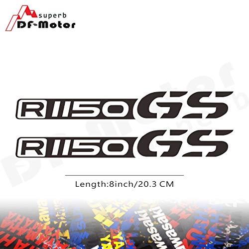 BLOUR 8 Zoll reflektierende Aufkleber Aufkleber Motorrad Auto Aufkleber Räder Verkleidung Helm Aufkleber Aufkleber für BMW R1150GS R1150 GS R 1150 GS