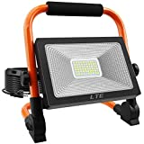 LED Work Light 50W 5500LM Portable Outdoor Flood...