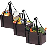 ATBAY Reusable Grocery <span class='highlight'>Bags</span> Heavy Duty <span class='highlight'>Shopping</span> Box Collapsible Extra Large for Gift Basket <span class='highlight'>Bags</span>(3 Pack)