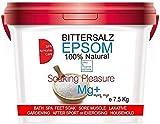 Sales Epsom Relajantes - Magnesio Natural Sal Pies Exfoliante pies ● Sales de baño (4 kg)