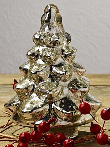 Market Street Mercury Glass Fir Christmas Tree