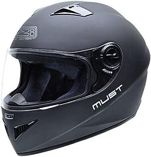 NZI 010193G067XL Premium S Duo Casco de Moto Negro Matt Talla XL