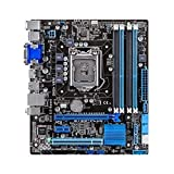 GUOQING Ordenador ATX placa base para Asus B75M - PLUS original Desktop Motherboard Intel B75 Socket LGA 1155 I3 I5 I7 DDR3 32G SATA3 USB3.0 placa base