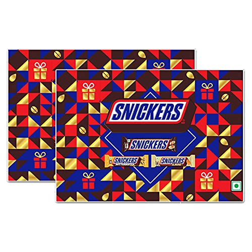 Snickers Premium Chocolates Gift Pack, 152g (Pack of 2)