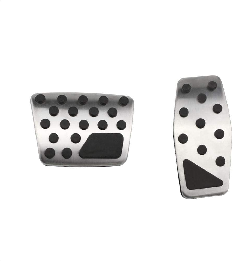 ZHHRHC Stainless Product Steel Car Pedal Cover Fresno Mall Pad fo Protection Pedals
