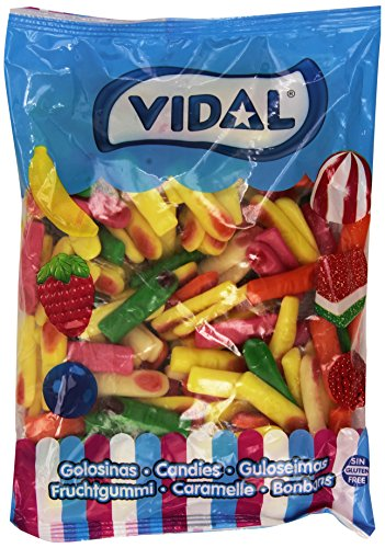 Vidal Dedos Surtidos Brillo Golosina - 1000 gr