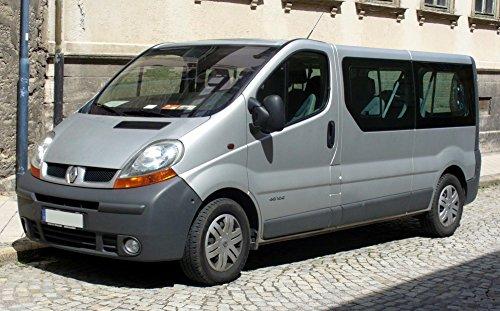 Sitzbezüge für Bus/Transporter Renault Trafic ab 2001auf Fahrersitz 2–Sitzer Bank in Wildleder, 7Farben