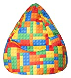 SITTING POINT only by MAGMA Kindersitzsack Bricks XL ca. 220 Liter