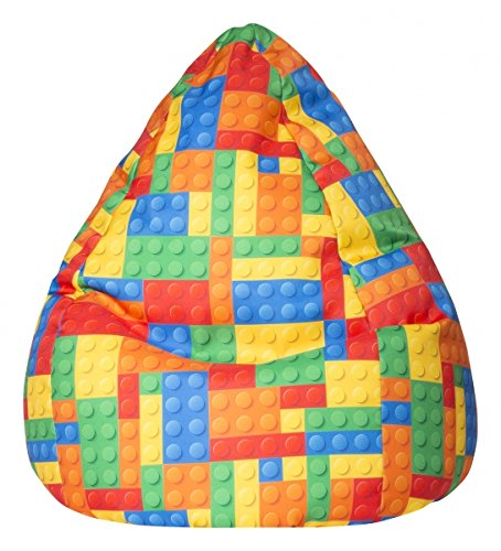 SITTING POINT only by MAGMA Kindersitzsack Bricks XL ca. 220 Liter
