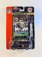 NFL Minnesota Vikings 2004 Diecast Hummer H2 with Trading Card, New