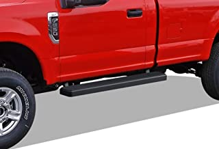 APS iBoard (Black 5 inches) 304 Stainless Steel Running Boards Nerf Bars Side Steps Step Rails Compatible with 2015-2020 Ford F150 Regular Cab Pickup 2-Door & 2017-2020 Ford F-250 F-350 Super Duty
