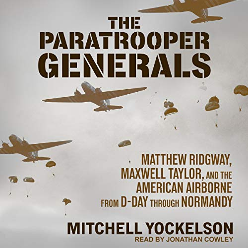 The Paratrooper Generals audiobook cover art