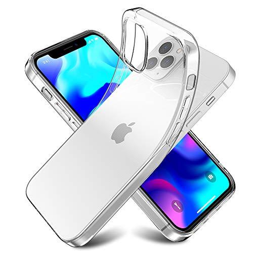 Youriad iPhone 12 mini ケース カバー | 透明 クリア ソフト iPhone12 用 カバー| 特徴 軽量 インチ 薄型 ストラップ 滑り止め ワイヤレス充電対応 落下防止 TPU(iPhone 12 mini)