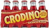 40x San pellegrino Crodino arancia rossa rot orange 100 ml Aperitif bitter