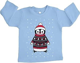 Verve Jelly Baby Weihnachtspullover Kleinkind Rentier Strickoverall 0-18 Monate Baby Jungen M/ädchen Weihnachtsoutfit