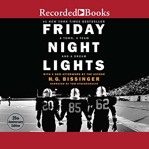 Friday Night Lights audiobook cover art