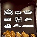 Cooldeerydm Cartoon boulangerie produits stickers muraux adhésif papier peint vinyle...