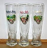 Paulaner Vasos de cerveza blanca, cerveza blanca, cerveza blanca, cerveza de cerveza, edición de vacaciones de corta duración, batidos