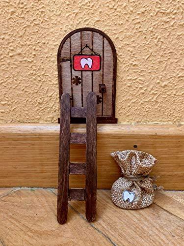 Puerta Ratón Pérez mágica. Regalo original niño niña Ratoncito Pérez