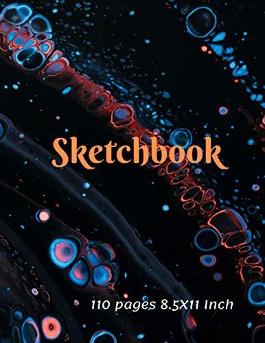 Sketchbook: Sketchbook for Sketching,Drawing, Doodling ,Painting and writing.