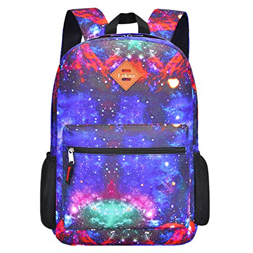 CoolBELL Backpack Casual Daypack Student Book Bag Water-Resistant Travel Backpack Multipurpose 15.6 Inches Laptop Backpack for Men/Women (Space Star)