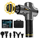 Massage Gun ALDOM Massage Gun Deep Tissue, 30 Speeds Handheld Muscle Massager Professional...