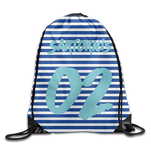Yuanmeiju Jacob Sartorius Logo Tote Bags Drawistring Pouch Travel Sport Bag for Adult Men Women Girl Boy Backpack