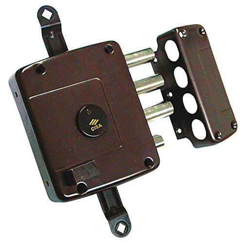 Cisa 1.57125.60.1 - Cerradura borja sobrep. llave larga tirador 3ptos dcha. sin varillas