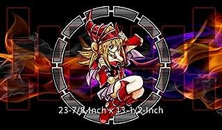 #3 - Yu-gi-oh Red Dark Magician Girl PLAYMAT, Yu-gi-oh Red Dark Magician Girl Play mat   Size 23-7/8-Inch x 13-1/2-Inch (AArt)