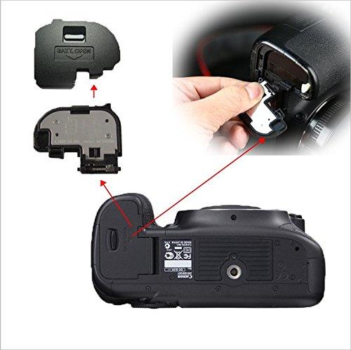 Replacement Camera Battery Cover Door Cap Lid Repair Part For Canon EOS 7D Digital Camera