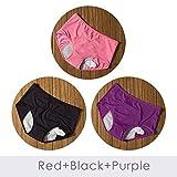 Xiaobing 3 Piezas/Juego de Bragas menstruales para Mujer, Pantalones Sexis, Ropa Interior a Prueba de Fugas, Cintura Alta para Mujer -H15-6XL (94-102cm) -M3071