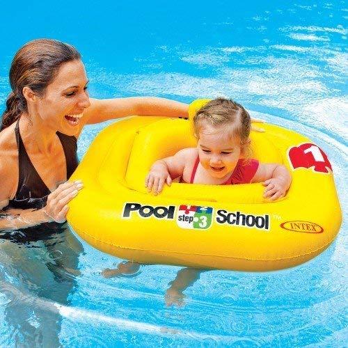 Intex 123Pool School Langlebig dickem aufblasbar Baby Float Schritt 1