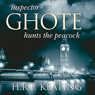 Inspector Ghote Hunts the Peacock cover art