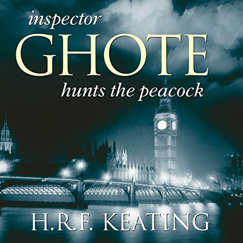 Inspector Ghote Hunts the Peacock audiobook cover art