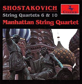 Shostakovich: String Quartets Nos. 6 & 10
