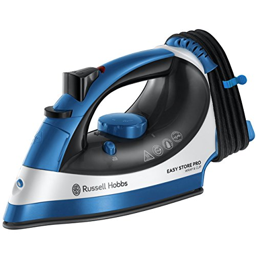 Russell Hobbs 23770 Easy Store Wrap & Clip Handheld Steam Iron with...