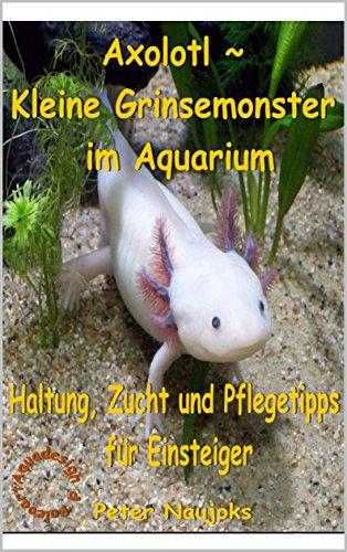 Axolotl ~ Kleine Grinsemonster im Aquarium: Haltung, Zucht und Pflege - Tipps für Einsteiger (German Edition)