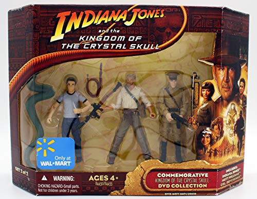 Indiana Jones and the Kingdom of the Crystal Skull Commemorative DVD Collection Action Figures Set #2 of 2