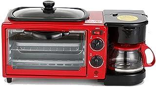 Aide au Petit-déjeuner Grille-Pain Machine à Petit-déjeuner Grille-Pain 3-en-1 Taille familiale Station de Petit-déjeuner ...