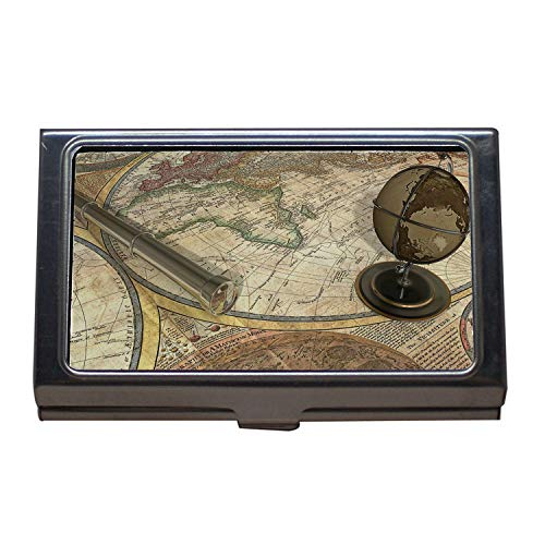 Business Card Holder,map Jacksonville Florida,map of The World,Dog probiotics,Business Card Case Stainless Steel
